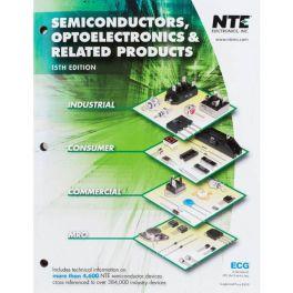 Catálogo de semiconductores NTE 15e y guía de reemplazos NTE (Antes ECG)