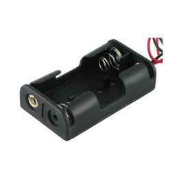 Conector doble baterías tamaño AA