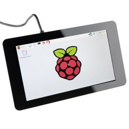 "Display LCD Touchscreen 7"" para Raspberry Pi"