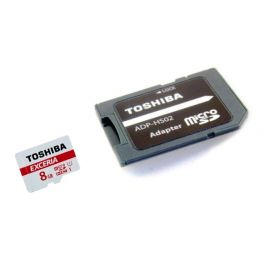 Memoria micro SDHC 16 GB clase 10 con adaptador SD