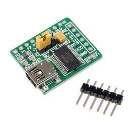 Tarjeta conversor USB a serial con FT232RL