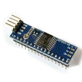 Módulo conversor de interface paralela de LCD`s alfanuméricos a interface serial I2C GY-IICLCD