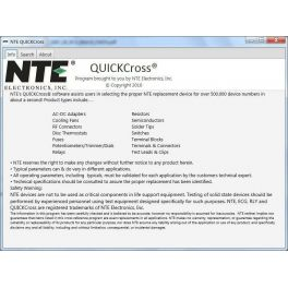 Software NTE QuickCross para PC y MAC