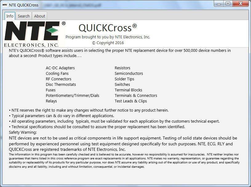 nte quickcross