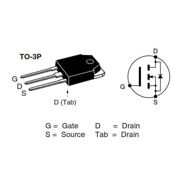 transistor mosfet nte2973
