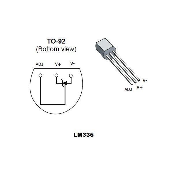 sensor de temperatura lm335