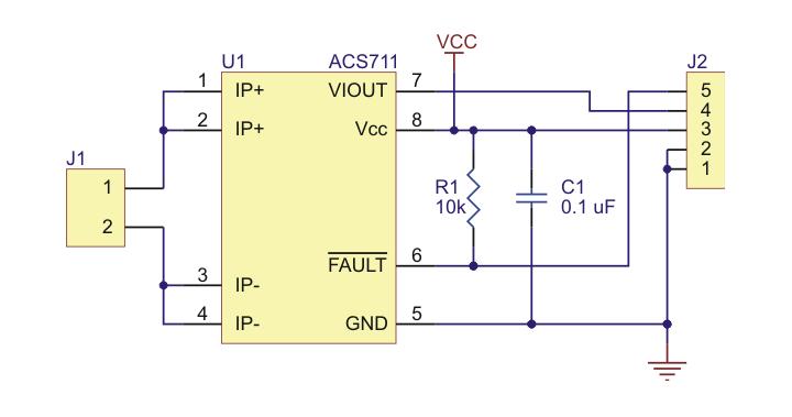 Sensor De Corriente 2197 Con Acs711klctr
